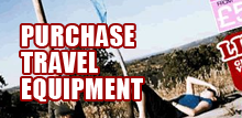 Purchase Travel Equipment